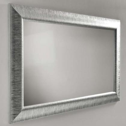 EBAN Зеркало ANASTASIA 90х70см в раме, цвет серебро