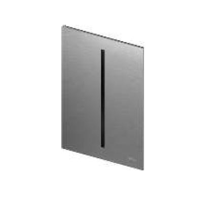 TECEfilo Панель  смыва  электронная для писсуара 100х150х4 мм, нерж. сталь (сатин) покрытие против отпеч пальцев, питание от батарейки.
