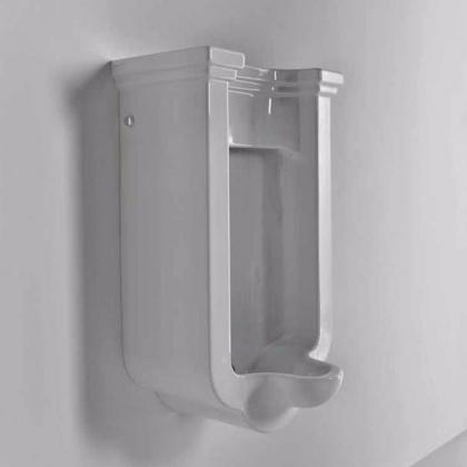 Kerasan Waldorf Писсуар подвесной с сифоном и компектом крепежей, цвет белый