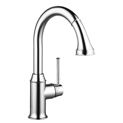 Смеситель для кухни Hansgrohe Тalis Classic 14863000 с вытягивающим душем