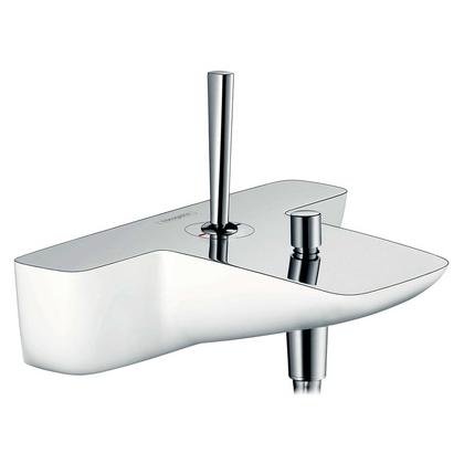 Смеситель для ванны Hansgrohe PuraVida 15472400 белый/хром