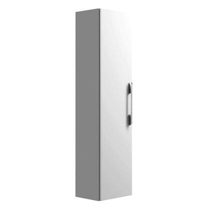 Шкаф-пенал Keramag it! 819160 40x33x170 L/R, 1 дверца с ручкой и зеркалом внутри, 6 полочек, белый