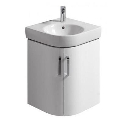 Шкафчик под угловой умывальник Keramag Renova Nr.1 Comprimo 862150 69x61,5x60,4, белый