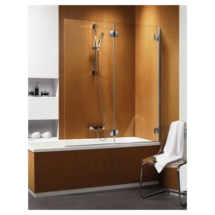 Шторка для ванны Radaway Carena PND/L хром+коричневый
