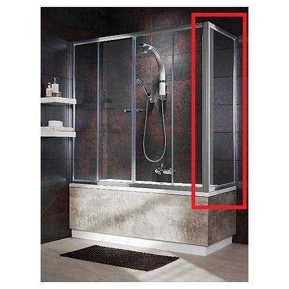Шторка для ванны Radaway Vesta DWD 180 хром+фабрик