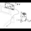 TECEplanus, механизм дистанц. смыва, провод., 12В (для панелей смыва 9240310 – 9240314)-2