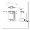 Kerasan Waldorf Писсуар подвесной с сифоном и компектом крепежей, цвет белый-2